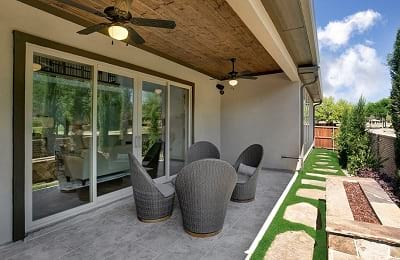 Gehan Homes Oriole Outdoor Patio
