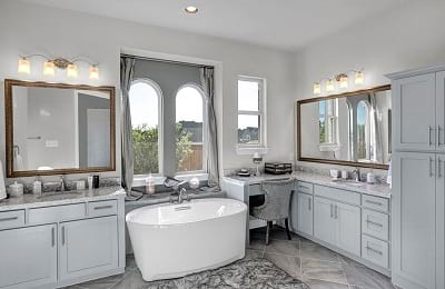 Gehan Homes Oriole Master Bathroom