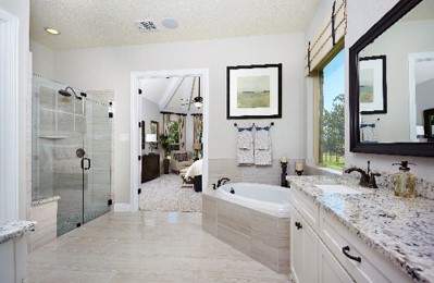 Gehan Homes Tulane Master Bathroom