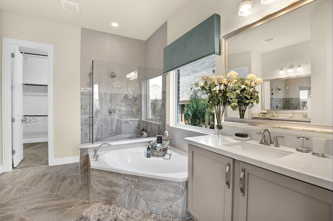 New Homes For Sale Gehan Homes Bathroom Gallery - Master-bathrooms