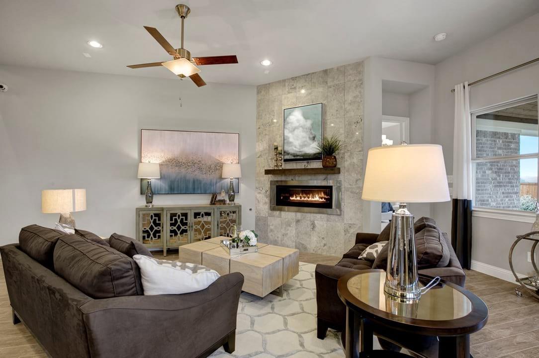 Gehan Homes New Home Living Room Gallery