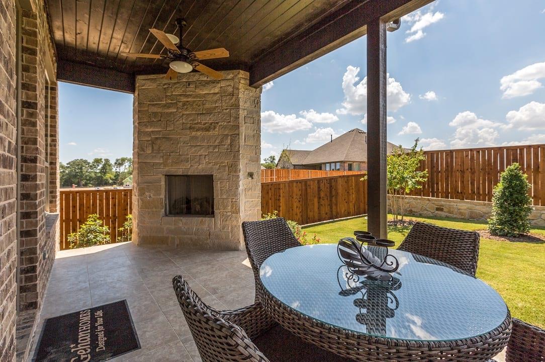 Dallas, Texas | Trinity Falls - Brown