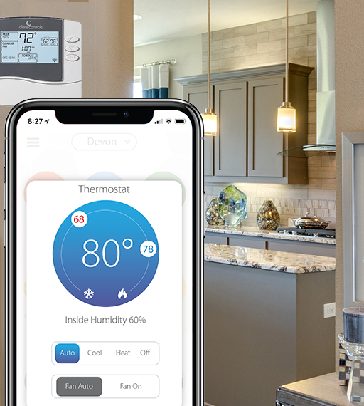 Wifi Enabled Thermostat