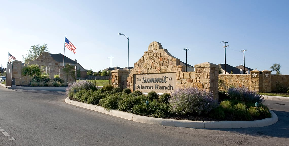 Alamo Ranch Community Sign