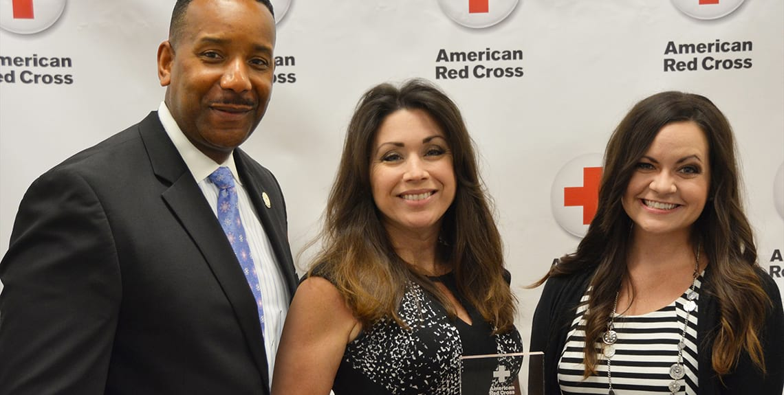 Red Cross Award - 2016