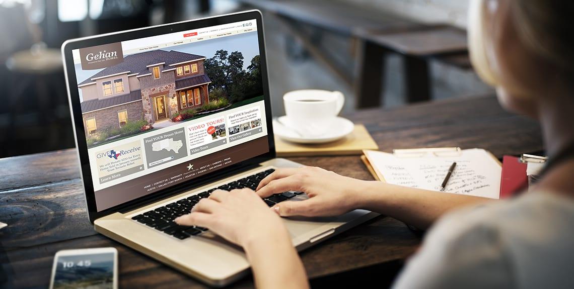 Gehan Homes Website