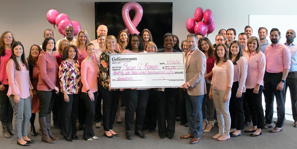 Susan G Koman Donation - 2018